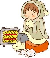 電気ストーブ エアコン